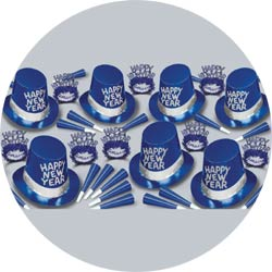 blue ice assortment 88259-B50 new years party kit