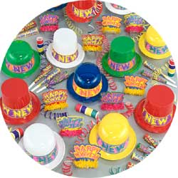 colorama assortment 88026-100 new years party kit